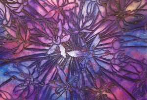 Honeysuckle Allium - 1020mm x 800mm - Sold