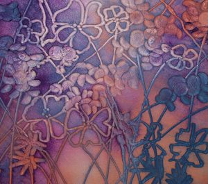Larkspur 1 - 330mm x 330mm - Sold