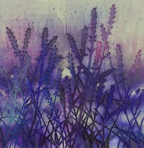 Lavender Love - 580mm x 580mm - Sold