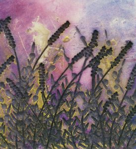 Midsummer 1 - 330mm x 330mm - Sold